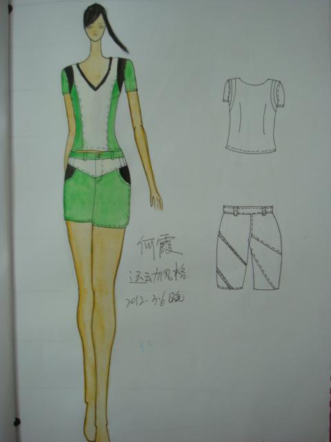 summer服装手绘设计款式